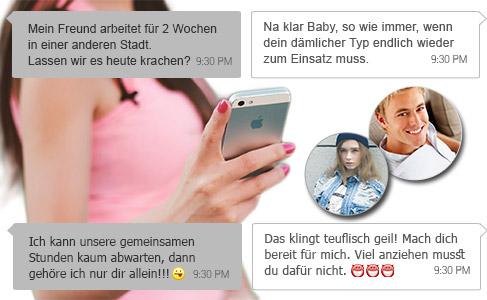 Fremdgeher und untreue Partner durch WhatsApp Nachrichten auffliegen lassen. Einfach WhatsApp Chats mitlesen