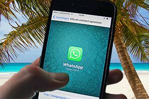 WhatsApp im Ausland